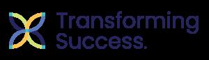 small transforming success logo